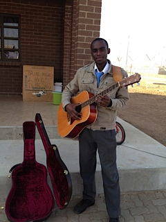 Mopati's guitar